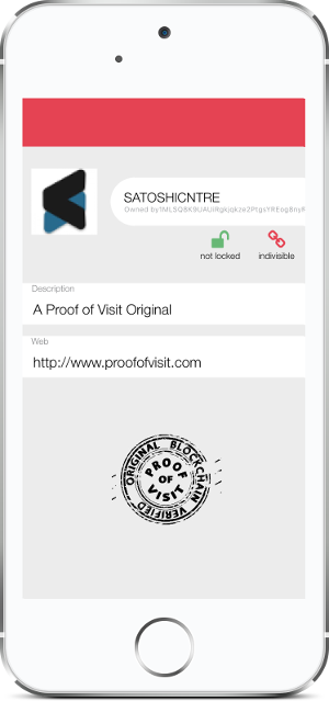 Proof of Visit - Satoshi Centre